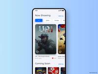 Movie app Interaction