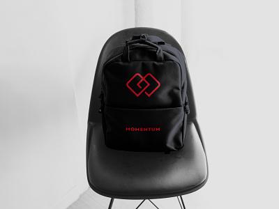 Minimal Logo Concept fashion illustration fashion design fashion ui wearable graphicdesign momentum clothing bags bag modern minimalist minimal logo illustration design custom creative concept branding