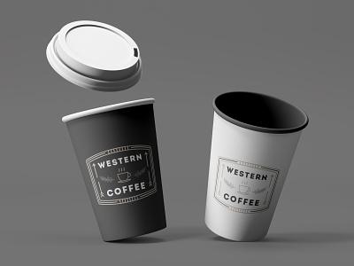 Vintage Logo Concept product design logo design art west drink coffee ui vintage design retro vintage modern minimalist minimal logo illustration design custom creative concept branding