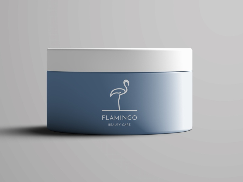 Flamingo Logo logo inspiration mockup animal logo art ui beauty logo beauty care minimalism animals flamingo logo modern minimalist minimal illustration design custom creative concept branding
