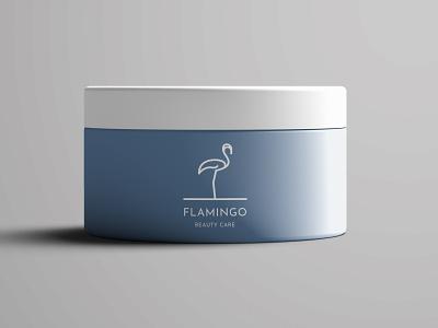 Flamingo Logo logo inspiration mockup animal logo art ui beauty logo beauty care minimalism animals flamingo logo modern minimalist minimal illustration design custom creative concept branding