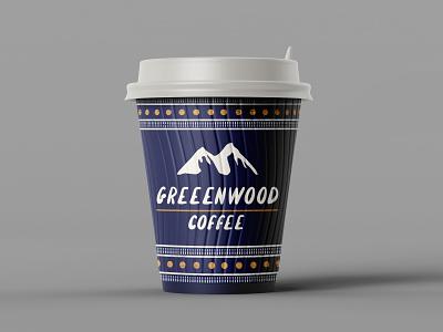 Vintage Logo Design logodesign logos art graphicdesign beverage mountains coffee cup retro vintage coffee mockup logo minimalist minimal illustration design custom creative concept branding