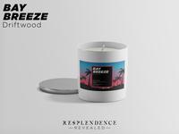Resplendence Revealed Candle Label Design