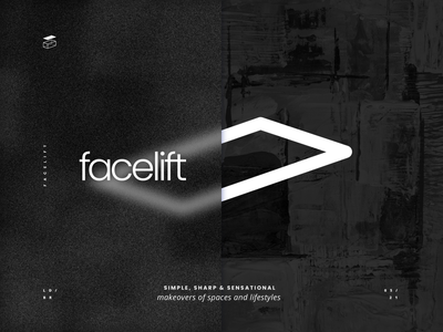 Studio Facelift - Logo Design and Brand Identity logotype logo lockup business card logos logo logo design illustrator graphic  design branding brand identity