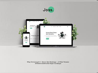 JOSS graphic design ui ux design ux design ui  ux branding ui design
