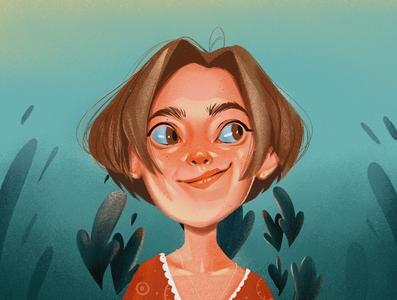Hello. It's me artwork procreate drawing self portrait art illustrator portrait illustration illustraion self-portrait portrait