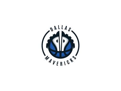 Dallas Mavericks Logo Design