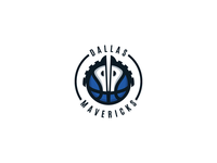 Dallas Mavericks Logo Design