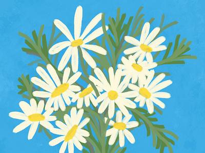 Flowers 1 floral flowers illustration procreate
