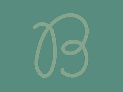B procreate type handlettering lettering