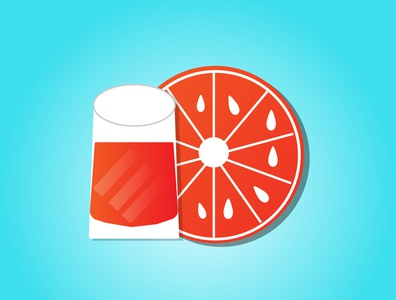 orange juice juice cartoon summer shiny illustration designer illustrator graphicdesign fun food design