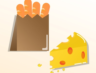 Simple food healthyfood shiny cartoon summer illustration fun designer illustrator graphicdesign food design