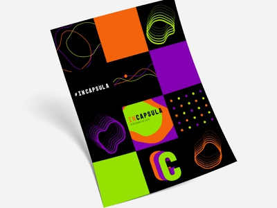 Performative Arts Communication graphicdesign composition performativearts wavesounds lines colorfull motion movement sound rythm livemusic art theatre music lab performance branding patterns