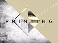 Graphics on Movement I Printing frame