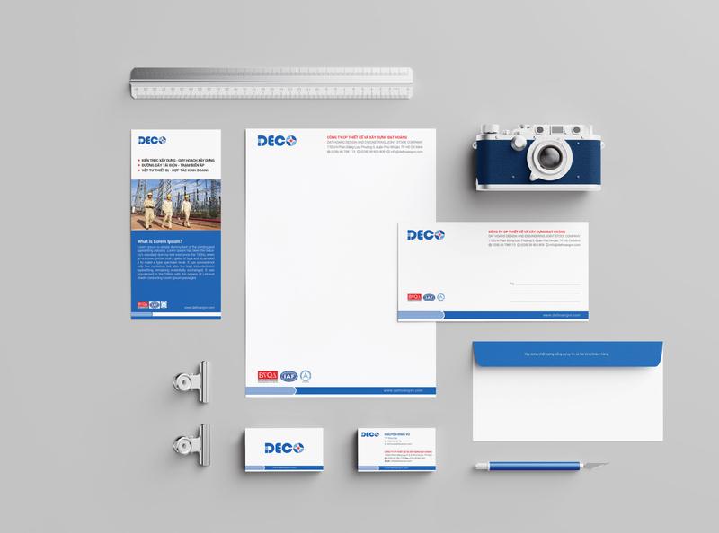 Dat Hoang Brand Identity Design star logo logo designs identity design electricity constructor branding blue logo