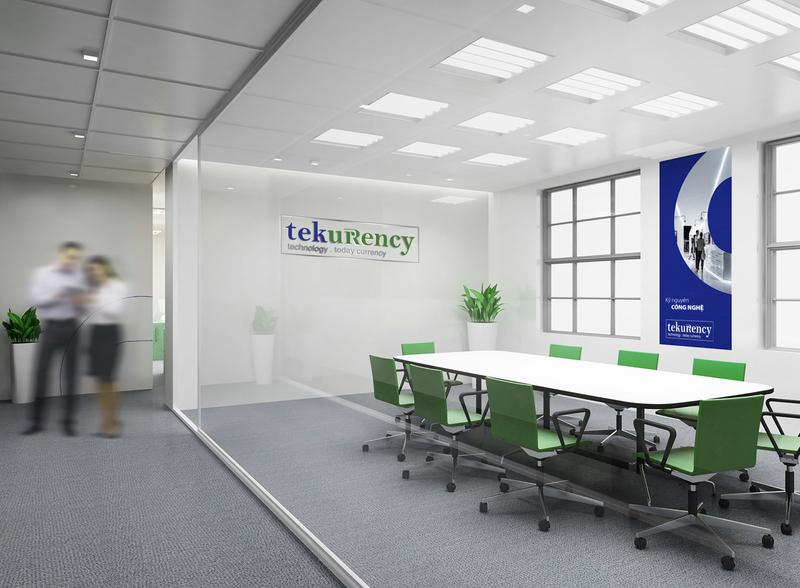 Tekurency Brand Identity Design wifi logo telecom technology science logo design branding brand identity 4.0