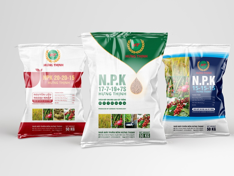 Hung Thinh Packaging Design farmer crops
