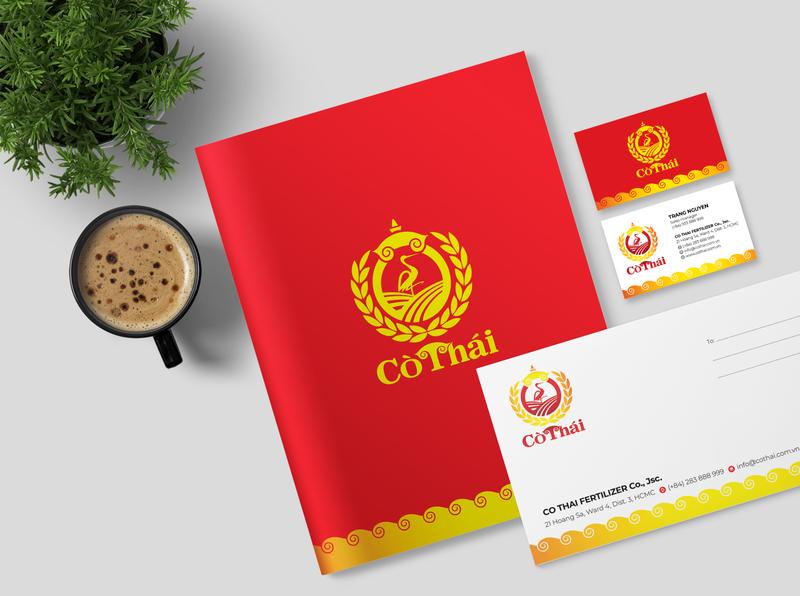 Co Thai Brand Identity Design thailand rice fertilizer farmer agriculture