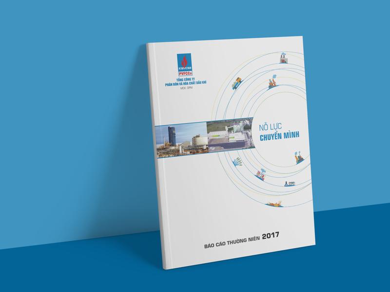 PVFCCo Annual Report 2017 Design annual report layout design company profile design farmer brochure