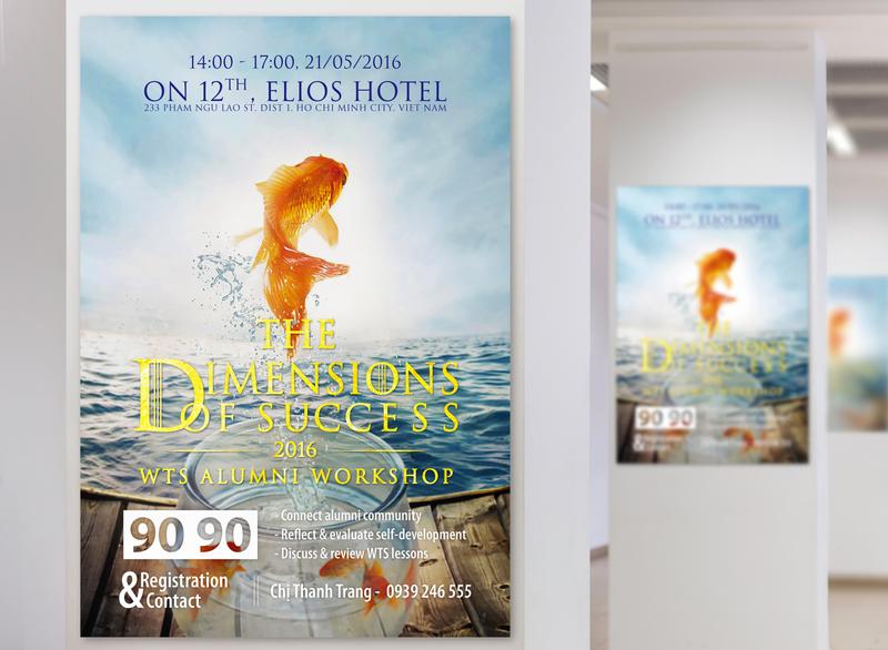WTS 5 Poster Design poster art graphic design branding luxury poster design