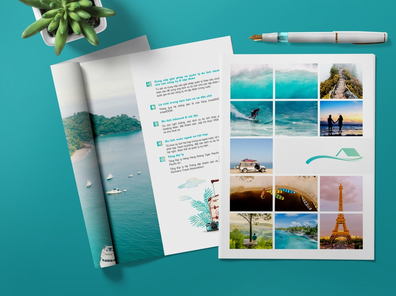 Template Company Profile Travel And Tours layout design travel brochure design company profile annual report