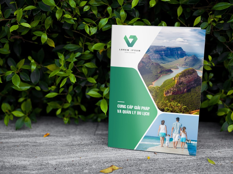 Template Company Profile Travel And Tours catalog design catalogue design company profile company profile design layout design annual report