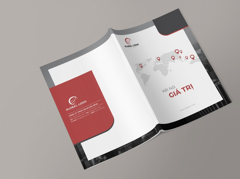 Template Company Profile catalog design catalogue design company profile layout design annual report company profile design