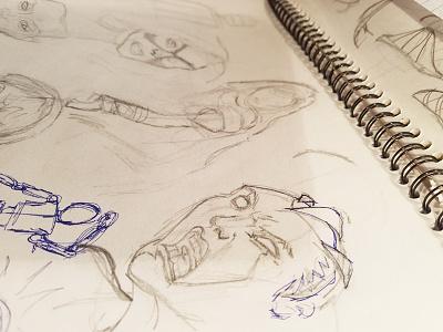Sketch Of The Day fan art marvel xmen paper idea fanart character drawing pencil sketch doodles