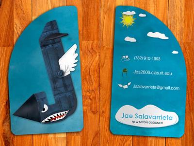 Letter Aviator photoshop adobe letter fresh print identity logo illustrator graphic design business cards business card