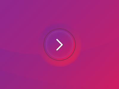 Embedded Button clean simple purple mobile circle arrow illustrator design ui button gradient