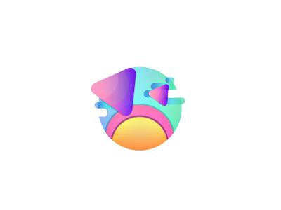 Sky is the Limit symbol shapes gradients digital concept design art geometric adobe illustrator graphic