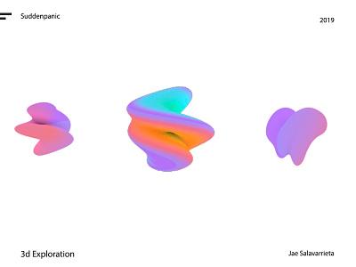 3d fUN twist shape shell texture c4d 3d