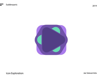 Play or be played play purple design logo vector illustrator identity icon