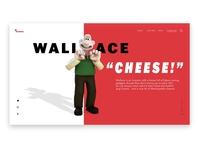Aardman website redesign web design ui design ui animation redesign design