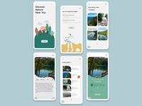 Discover Nature nature ui design app design ui design