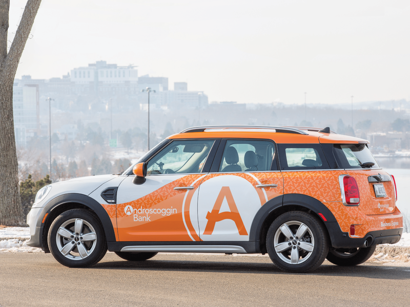 AB Vehicle Wrap bank vehicle wrap car branding design