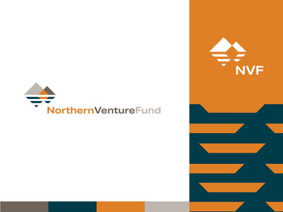 NVF Option 1 solar energy mountain logo deisgn branding mountain investment fund venture capital