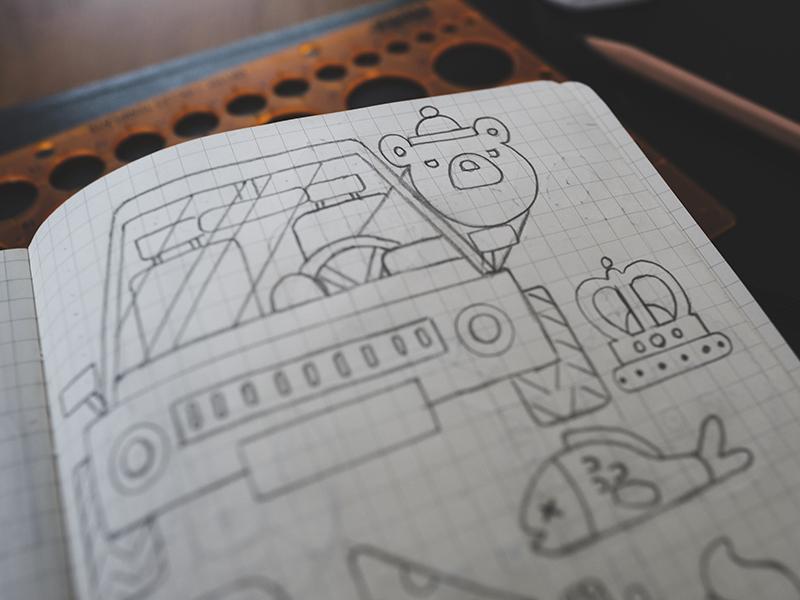 Sketchbook #001 sketching sketch wip pencil draw sketchbook moleskine drawing illustration