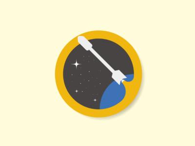 Rock'd vector vector logo illustration