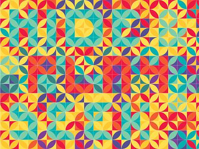 Hide and Seek Pattern pattern art illustration design