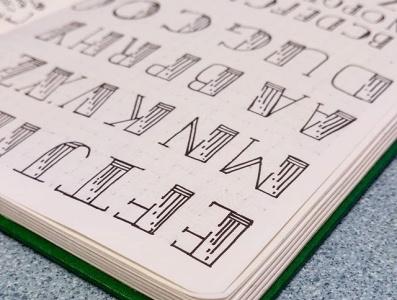 Jewel font design hand lettering handlettering typography