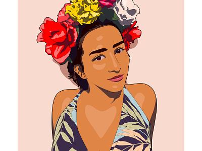 Self Portrait portrait digital art digital illustration illustration