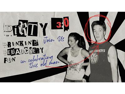 Jeremy s Birthday poster art digital art typography