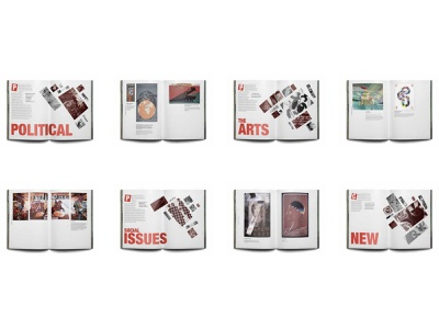 Dialogues Poster Show Catalogue graphic design typography page design page layout print design