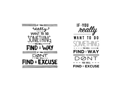 You Will Find A Way handlettering handletter typography