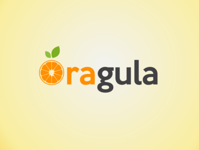 Oragula branding icon design logo illustration