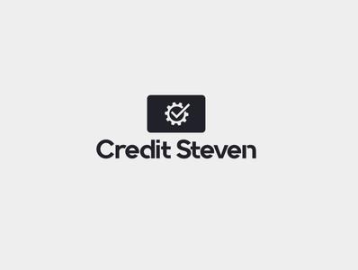 credit steven branding minimal icon design logo illustration