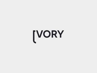Ivory flat branding minimal icon design logo illustration