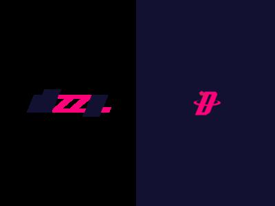 dizzy typography graphic design illustrator flat branding minimal icon design logo illustration