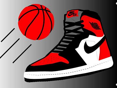 Air Jordan illustration vector design